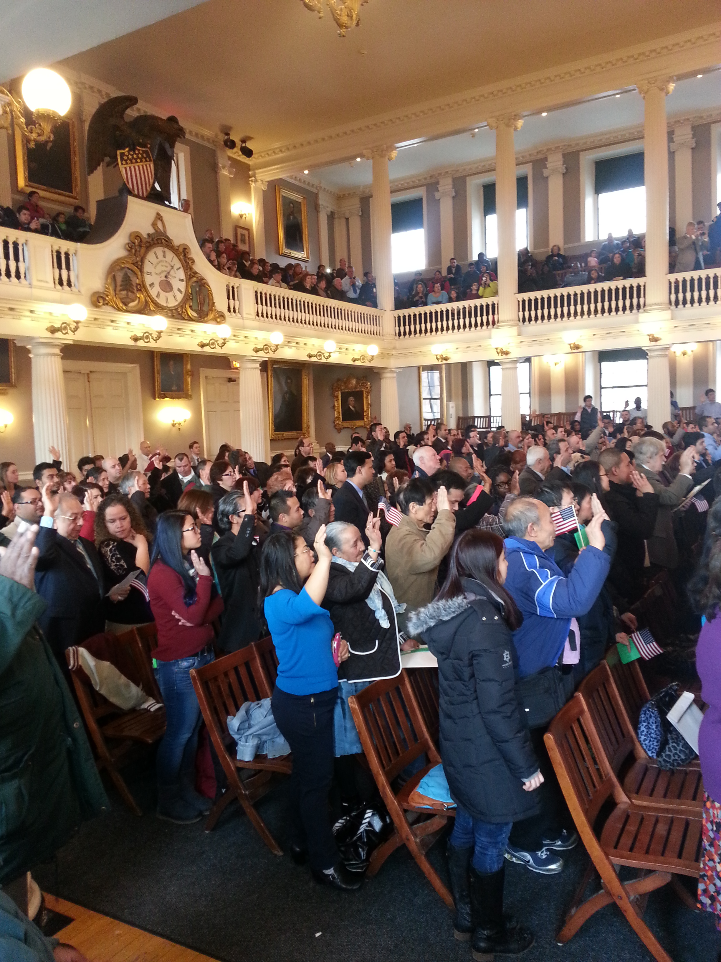 Naturalization Ceremony- Pic. 2