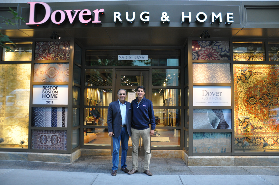 Mahmud-Jafri,-CEO-of-Dover-Rug-&-Home-with-Hasan-Jafri-at-the-new-Back-Bay-showroom