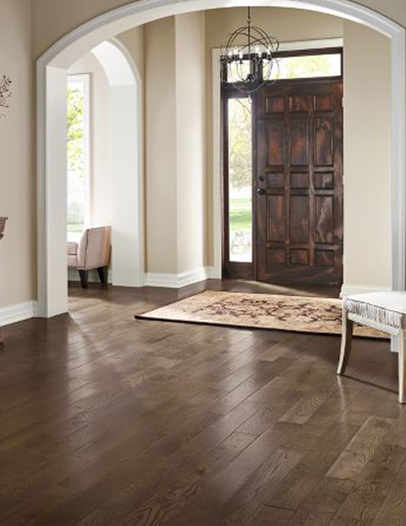 hardwood floors entryway