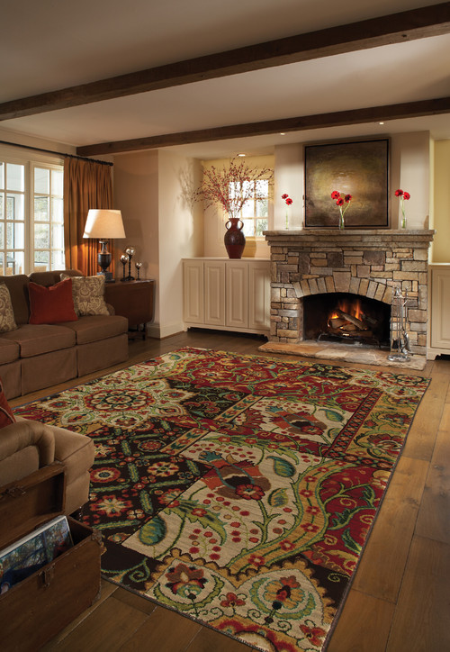 How a rug can enhance your existing decor.