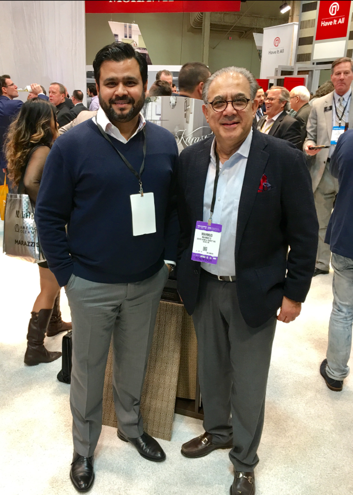 Mahmud Jafri with partner Farhan Qazi of FQ Designs, San Francisco